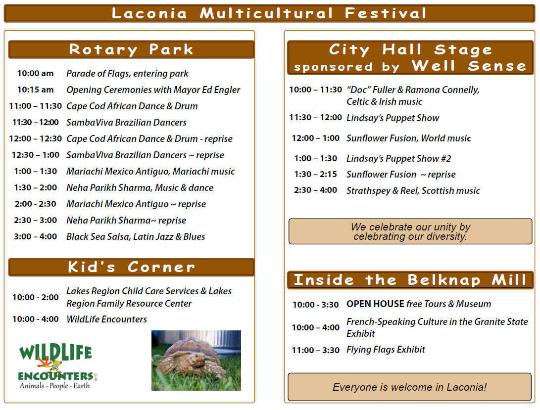 Calendar of events and things to do for families in NH